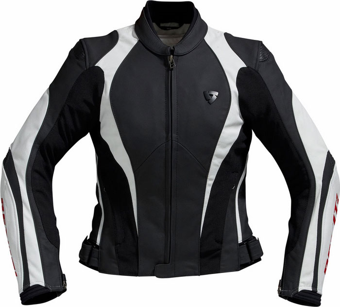 Jacket Rev'it Raven Ladies Black-Grey (Red)