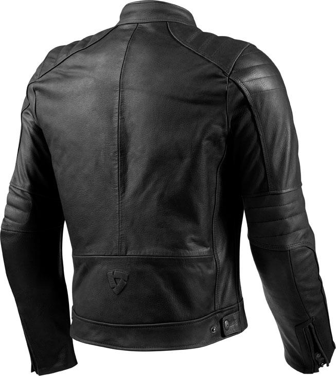 Rev'it Redhook leather jacket black