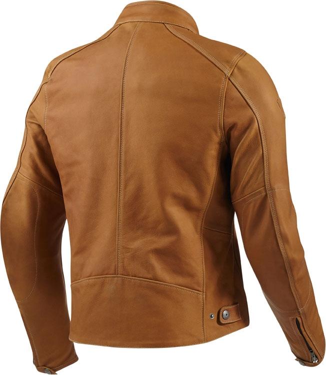 Rev'it Flatbush leather jacket camel