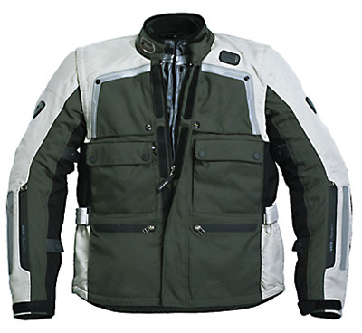 REV'IT! Cayenne Pro Jacket - Col. Dark Green/Grey