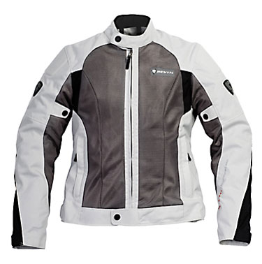 Giacca moto donna Rev'it Air Ladies argento