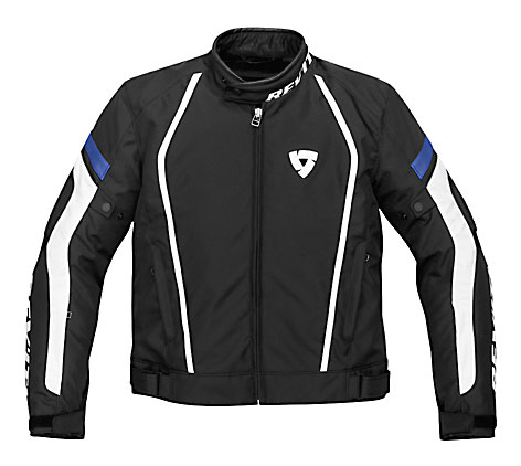 Giacca moto Rev'it Apollo nero-blu