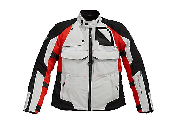 REV'IT! Defender GTX Jacket - Col. Silver/Red