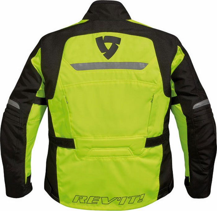 Jacket Rev'it Energy HV black-yellow fluo