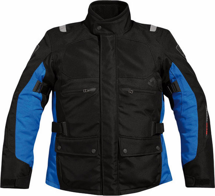 Giacca moto Rev'it Energy Nero-Blu