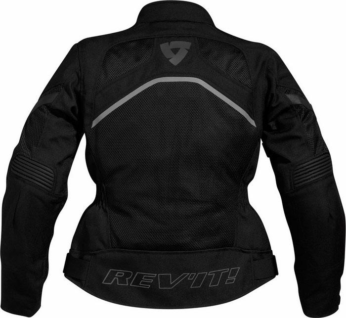 Giacca moto donna Rev'it Tornado Ladies Nero