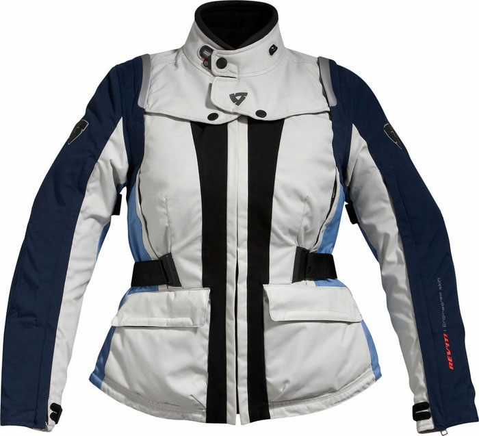 Jacket Rev'it Ventura Ladies Silver-Blue