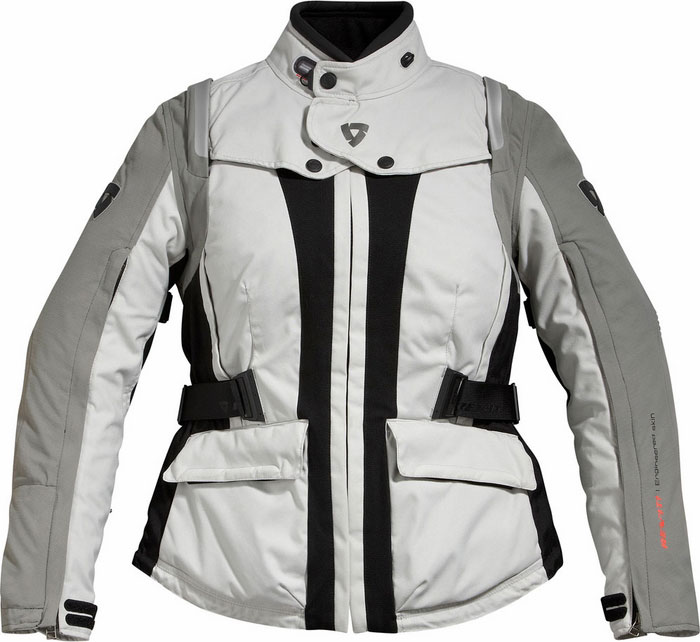 REV'IT! Ventura Ladies' Jacket - Col. Silver/Black