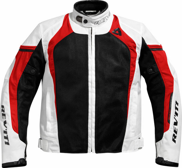 Jacket Rev'it Tarmac Air White-Red