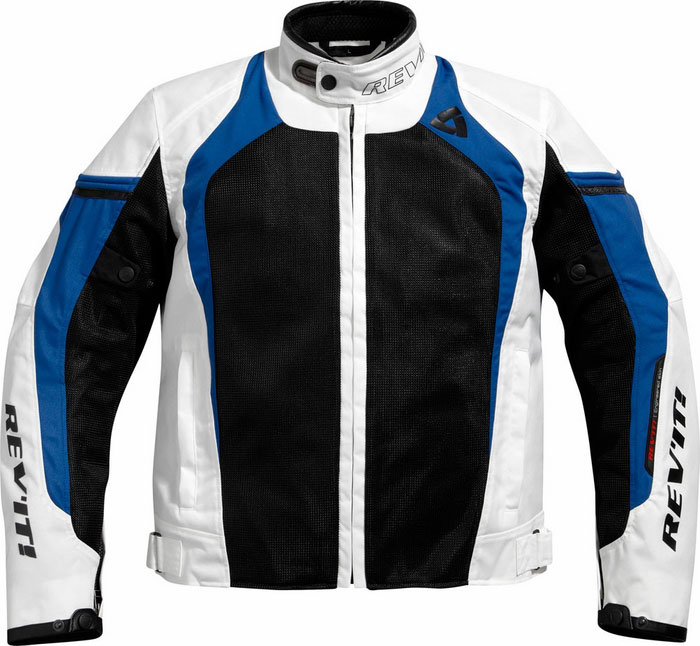 Giacca moto Rev'it Tarmac Air Bianco-Blu