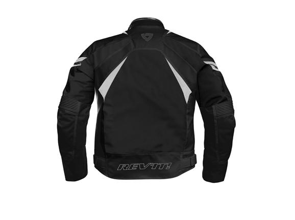Giacca moto Rev'it Tarmac H2O Nero-Argento