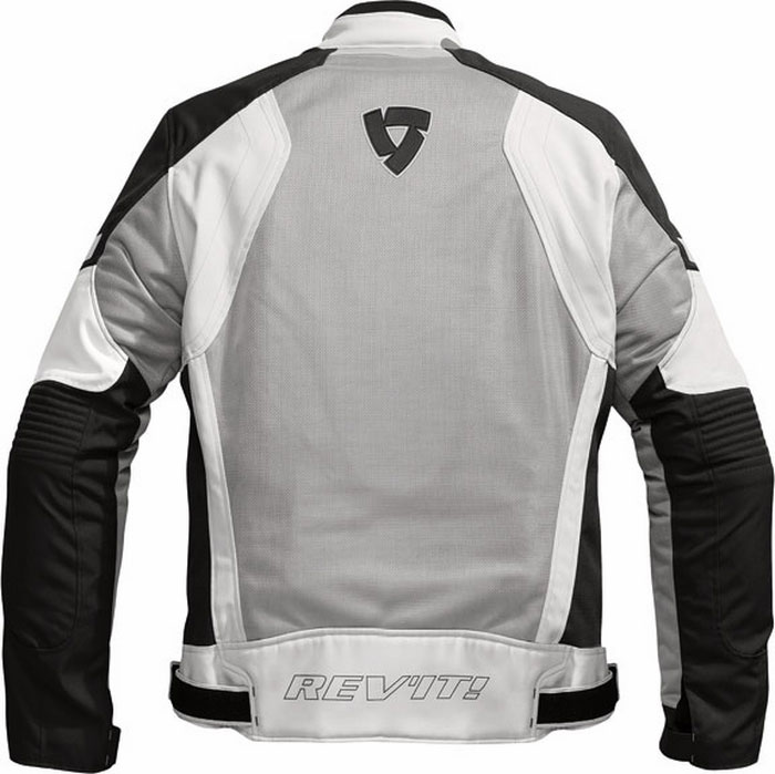 Rev'it airwave summer motorcycle jacket silver-black