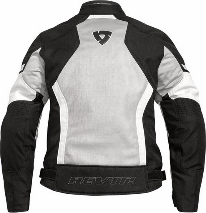Rev'it Airwave Ladies summer motorcycle jacket black-silver