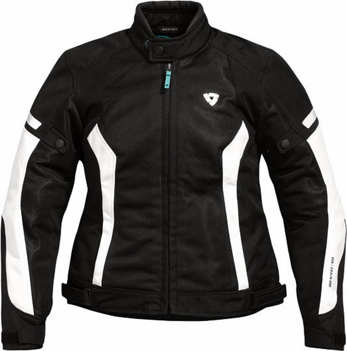 Rev'it Airwave Ladies summer motorcycle jacket black-white