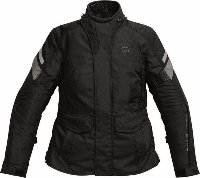 Giacca moto donna Rev'it Indigo Ladies nero-argento