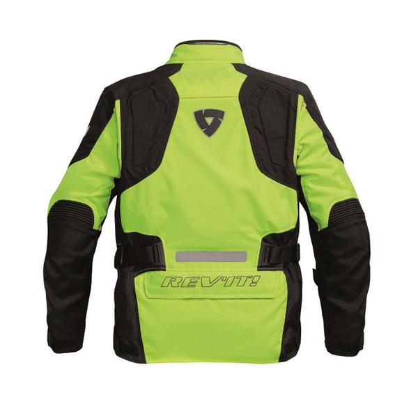 Motorcycle jacket Rev'it Spectrum HV Neon Yellow Black