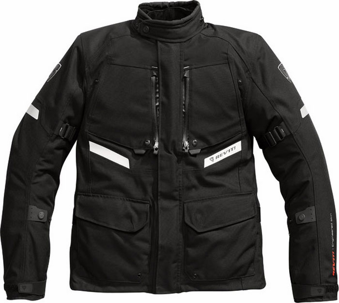 Rev'it Horizon motorcycle jacket black