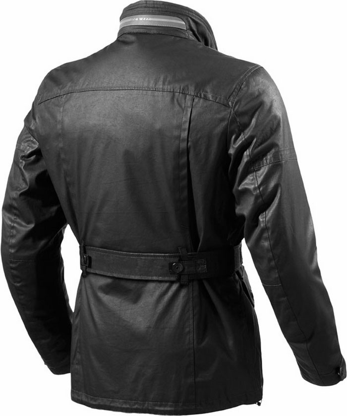 Rev'it Melville motorcycle jacket black Urban Collection