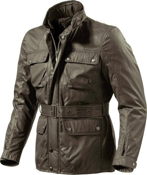 Rev'it Melville motorcycle jacket brwon Urban Collection