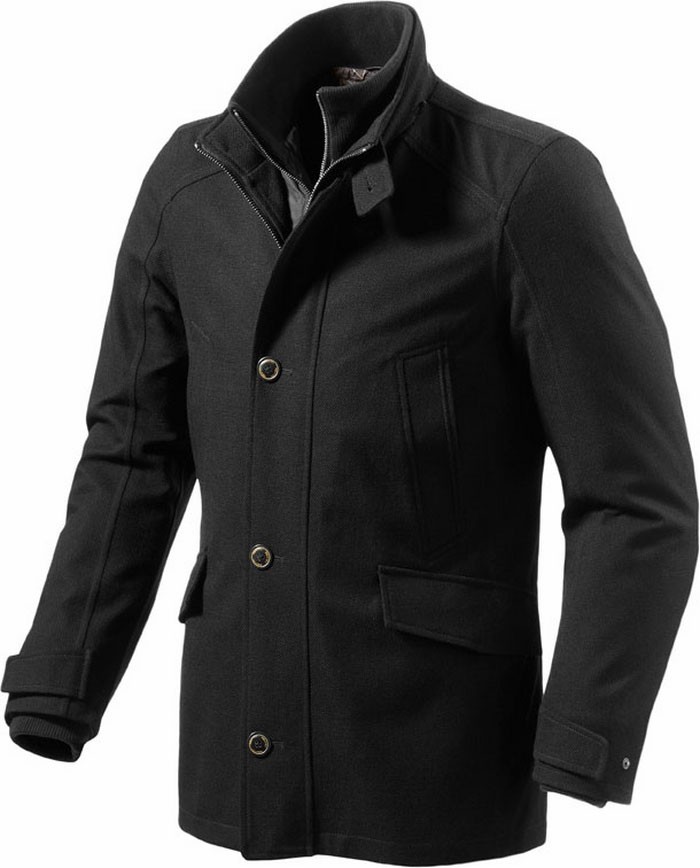 Rev'it Opera motorcycle jacket black Urban Collection