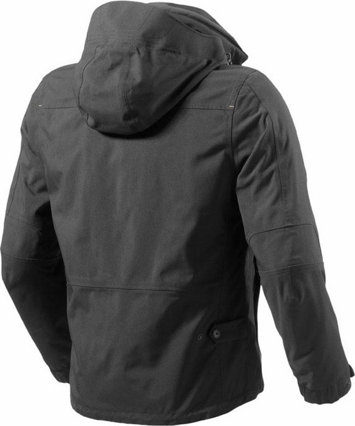 Rev'it Bastille motorcycle jacket black Urban Collection