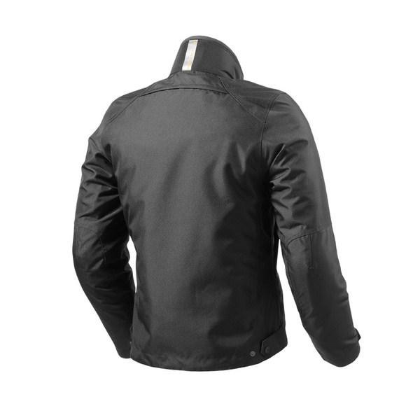 Monti black motorcycle jacket Rev'it