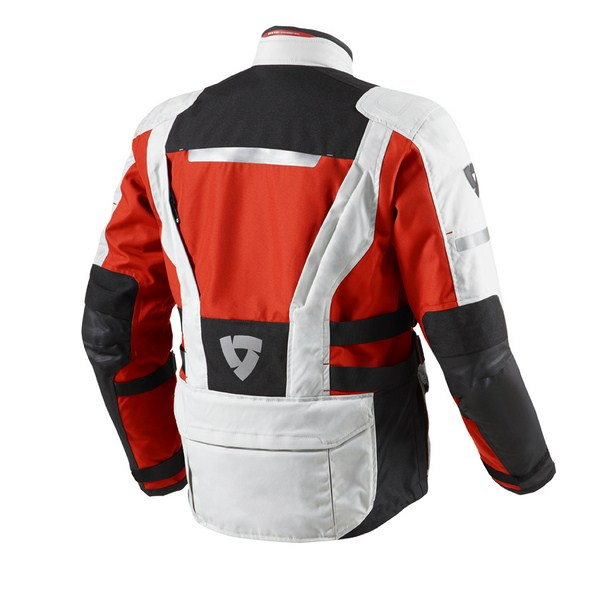 Giacca moto Rev'it Sand 2 Argento Rosso