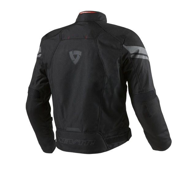 Excalibur Black motorcycle jacket Rev'it
