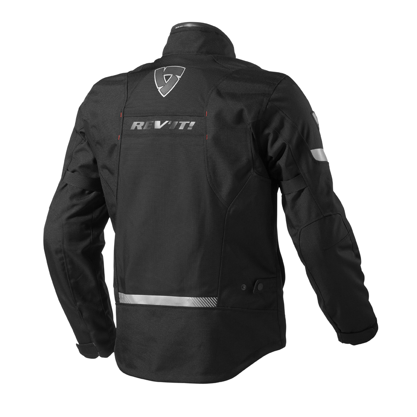 Motorcycle jacket Rev'it Chronos GTX Black