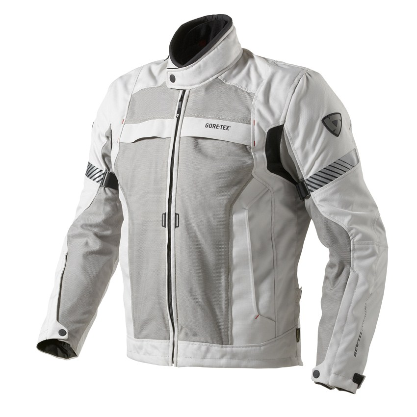 Motorcycle jacket Rev'it Chronos GTX Grey