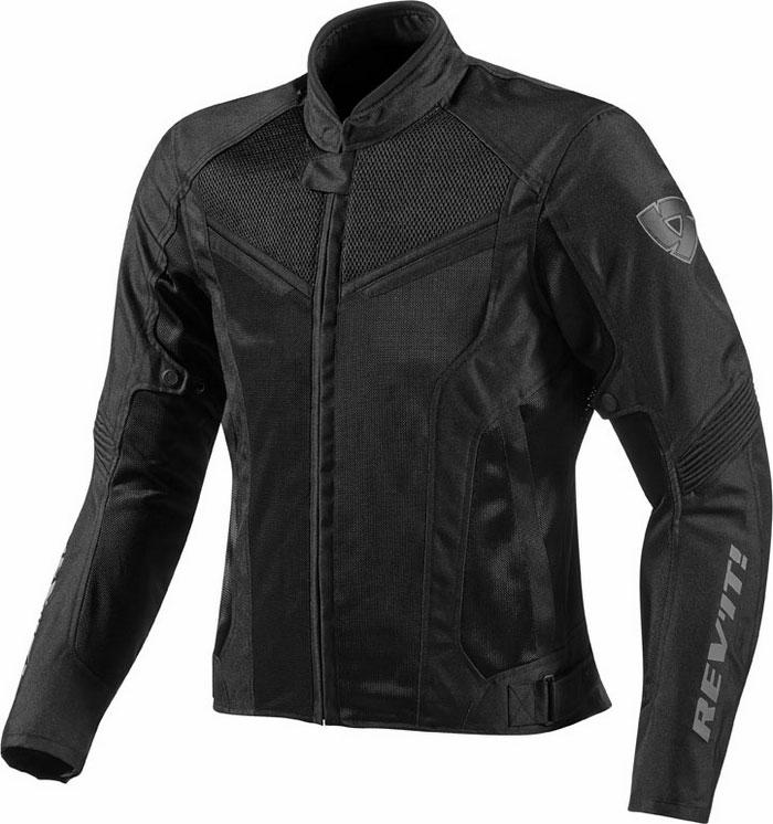 Motorcycle jacket Rev'It Air GT-R Black