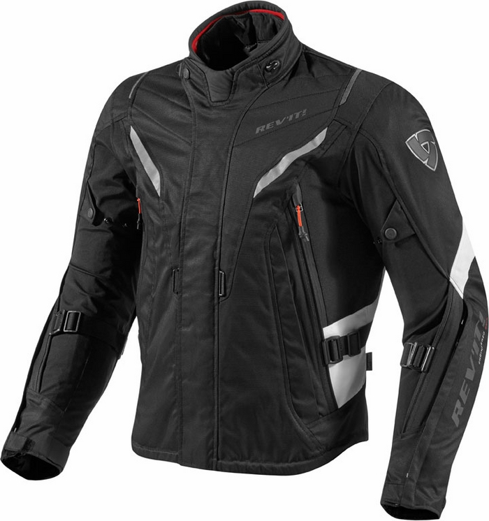 Giacca moto Rev'it Vapor nero bianco