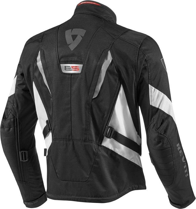 Rev'it Vapor motorcycle jacket black white