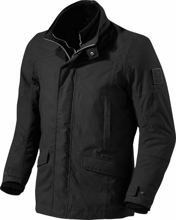 Motorcycle jacket Rev'It Elysee Black