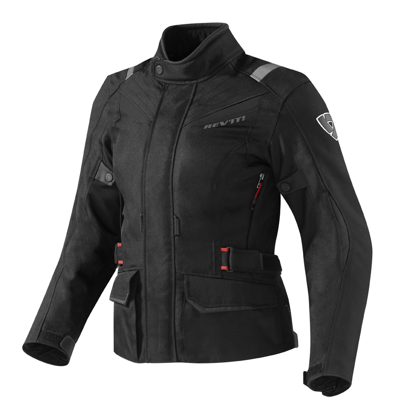 Giacca moto donna Rev'it Voltiac Ladies Nero