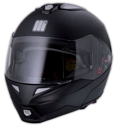 Casco modulare Humans Flip Cube Nero Opaco