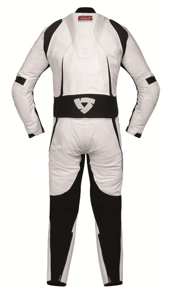 Biker motorcycle jacket Rev'it Bullit Black White