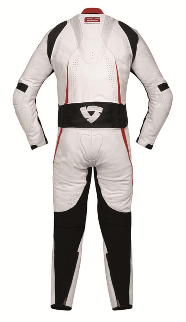 Tuta moto Rev'it Bullit Bianco Rosso