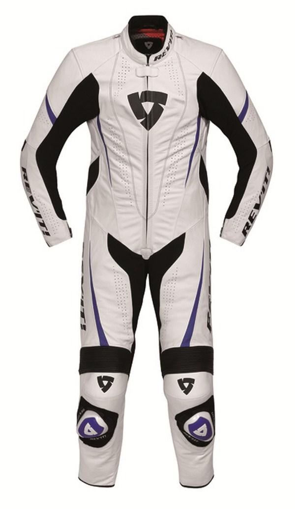 Tuta moto Rev'it Bullit Bianco Blu