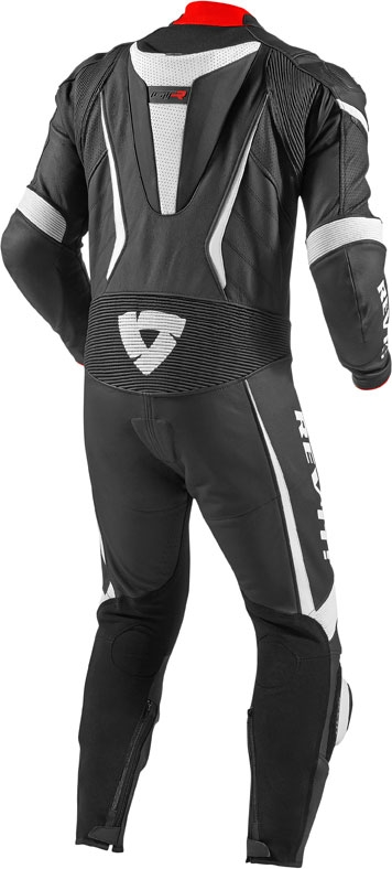 Rev'it GT-R one piece leather suit  black white