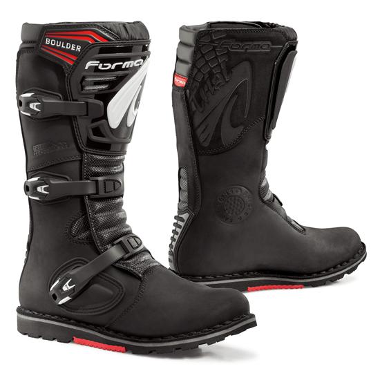 Form Boulder Black leather boots trial