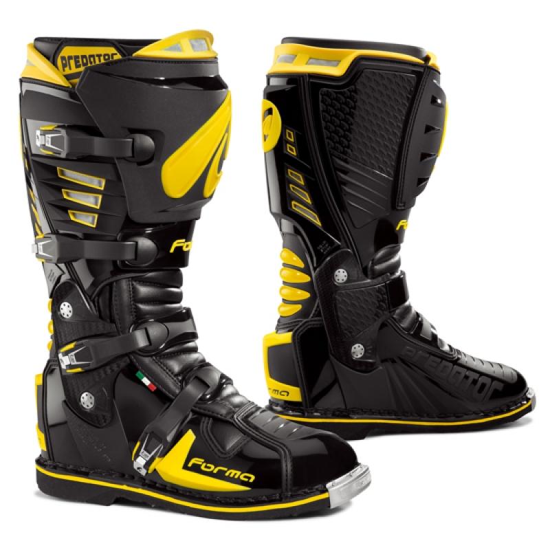 Cross Forma Predator Boots Black Yellow