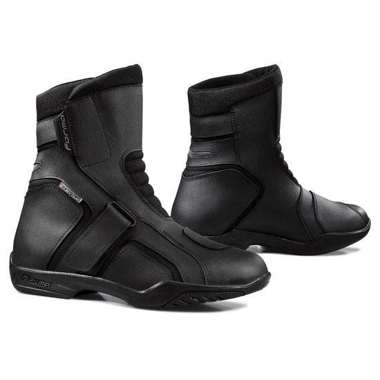 Motorcycle Boots Black Forma Trace