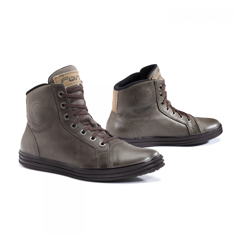 Motorcycle leather shoes Forma Slam Dry Brown
