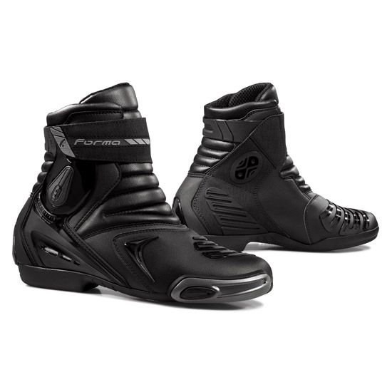 Velocity Motorcycle Shoes Forma Black