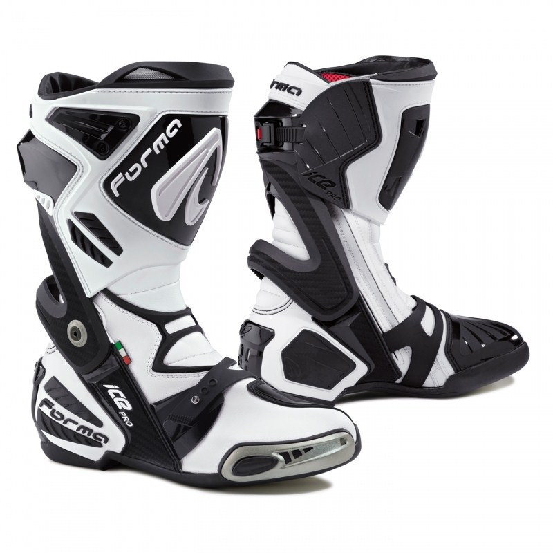 Motorcycle boots Pro Forma Ice White