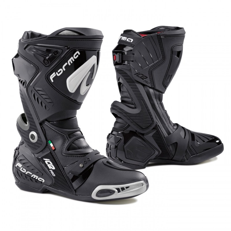 Motorcycle boots Pro Forma Black Ice