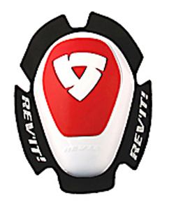 Coppia saponette Rev'it Dual Comp Type A Bianco-Rosso