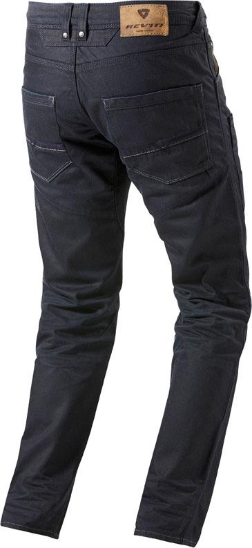 Jeans moto Rev'it Carnaby blu scuro L36