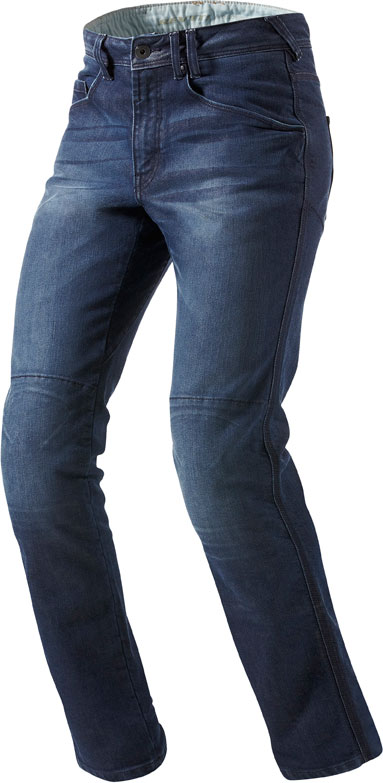 Jeans moto Rev'it Vendome blu medio L36